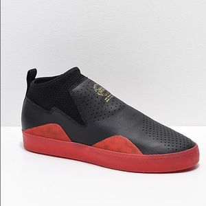 Adidas 3ST.002 Nakel Black & Red Shoes 10